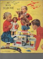 Catalogue Jouets Noël AU BON MARCHE 1956 (CAT064) - France