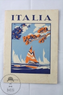 Old 1950's Italy Tourism Brochure - Edited By The Italian National Tourism Board - Spanish Edition - Folletos Turísticos