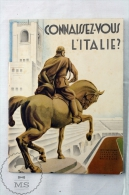 Connaissez - Vous L'Italie/ Do You Know Italy - Edited By The Italian National Tourism Board - French Edition - Folletos Turísticos