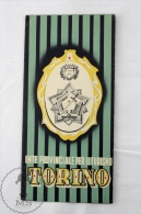 Italy - Torino 1950 Tourism Brochure / Map - Edited By The Italian National Tourism Board - Folletos Turísticos