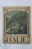 1922 Portofino Italy Tourism Brochure - Edited By The Italian National Tourism Board - French Edition - Folletos Turísticos