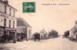 CPA - COIGNIÈRES (78) - (S. Et O.) - ROUTE NATIONALE - AUBERGE DE LA POSTE - Francia