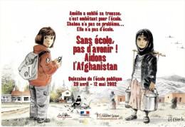 METIER ENSEIGNEMENT ECOLE  SANS ECOLE PAS D'AVENIR AIDONS L'AFGHANISTAN  ENFANTS - Métiers