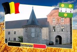Postcard, Municipalities Of Belgium, Anthisnes, Walloon Region - Cartes Géographiques