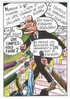 ILLUSTRATEUR VEYRI  JACQUES CHIRAC CARTE D'ABONNE REVUE CPC 118   TBE - Veyri, Bernard
