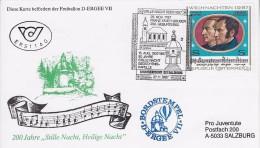 Christkindl Ballonpost Karte 1987 - 1981-90 Lettres