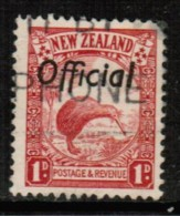 NEW ZEALAND  Scott # O 58  VF USED - Officials