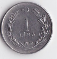 TURQUIE  1  LIRA  Kemal Ataturk  ANNEE 1972    LOT100379 - Turquie