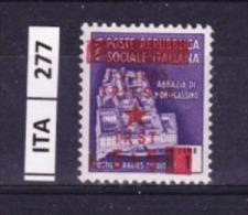 ITALIA, TRIESTE , 1945, OCCUPAZIONE YUGOSLAVA, L. 5+5 Su 1. Nuovo