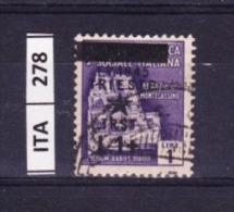 ITALIA, TRIESTE , 1945, OCCUPAZIONE YUGOSLAVA, L. 1 + Su 1. Usato