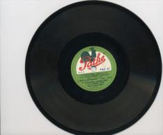 """78T??  DISQUE PATHE (18 Cm) """"BIQUETTE NE VEUT PAS SORTIR DU CHOU""""  &  """"a) LE PETIT AVOCAT -b) LA FILLE DE LA MEINIÈRE, - - 78 T - Disques Pour Gramophone"""