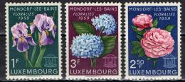 LUSSEMBURGO - 1959 - FESTA DEI FIORI A MONDORF LES BAINS - NUOVI MNH - Neufs