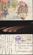 4496) HUMOR UMORISMO IL VERO ASPETTO UOMINI DONNE VIAGGIATA 1940 ILLUSTRATORE G.P. - Non Classificati