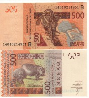 BENIN    500 Francs  CFA   ( West African States   )  PNEW    2014   UNC - Benin