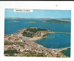 CPM  Espagne Bayona La Real Vue Aérienne FAMA Circulé TBE - Pontevedra
