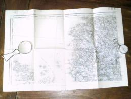 BREST  . ..  Carte Topographique De 1889 N° 57/1 - Topographical Maps