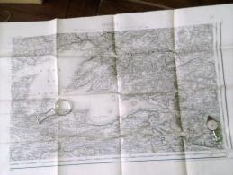 BREST  .S .E.  Carte Topographique De 1895 N° 57/4 - Topographical Maps