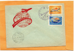 Russia 1958 Air Mail Cover - Covers & Documents