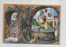 G-I-E , Cp , Peinture Sur Liége Inaltérable , LA FONTAINE , N° 35 , Vierge - Cartes Postales