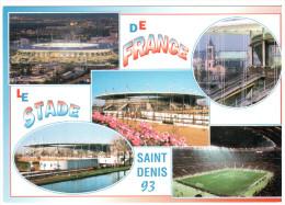 CPM STADE DE FRANCE SAINT DENIS DIVERS ASPECTS - Stades