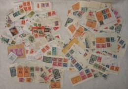 382C/3  LOTTO STOCK FRANCOBOLLI E MARCHE DA BOLLO PERIODO ANNI 50 - 80 - Stamps