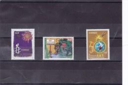 CONGO :  Amnesty Internationale : Y&T : 916** à 918** - 1990-96: Neufs