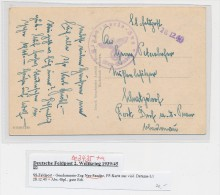 SS-Feldpost-bitte Detail Beschreibung Beachten !!  (be3435  ) Siehe Scan - Briefe U. Dokumente