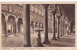 Italy Ravenna Interno Basilica Santa Apollinare Nuovo