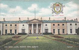 DUBLIN - VICE REGAL LODGE, PHOENIX PARK  BY REIS 1910 - Dublin