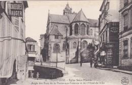 23R - 95 - Pontoise - Val-d'Oise - Rue Thiers - Eglise Saint-Maclou - Angle Des Rues De La Pierre-aux-Poissons - N° 15 - Pontoise