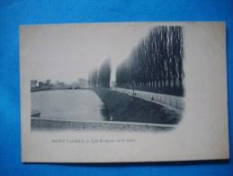 SAINT VALERY  -  80  -  Les Ecluses Et La Gare  -  Somme - Saint Valery Sur Somme