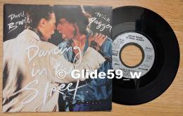 David Bowie & Mick Jagger - Dancing In The Street - EMI N° 2007 877 - 1985 (45 Tours) - Rock