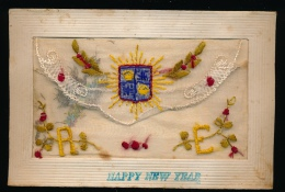 HAPPY NEW YEAR - Brodées