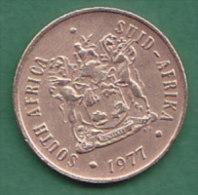 AFRIQUE DU SUD   2 CENTS   ANNEE 1977    LOT100385 - Afrique Du Sud