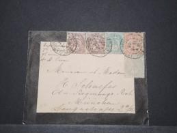 FRANCE - Env Pour Munich Allemagne Avec Type Blanc - Août 1903 - A Voir - P17171 - Marcophilie (Lettres)