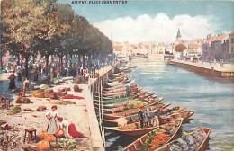 -depts Div.-ref- EE934 - Somme - Amiens - Place Parmentier - Carte Tuck - Illustrateur Oilette - Illustrateurs - - Amiens