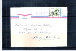Lettre Du Mali Vers Allemagne - Fleurs (à Voir) - Mali (1959-...)