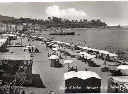 Campania-napoli-porto D'ischia Spiaggia Di San Pietro Veduta Animatissima - Italia