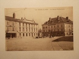 Carte Postale  - LA TOUR DU PIN (38) - La Sous-Prefecture (48) - La Tour-du-Pin