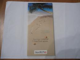 CATALOGO OROLOGIO SWATCH SPRING-SUMMER COLLECTION 2003 - Collectors Manuals