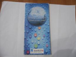 CATALOGO OROLOGIO SWATCH SPRING-SUMMER COLLECTION 2004 - Collectors Manuals