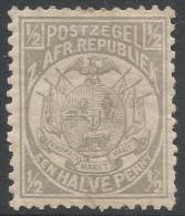 Transvaal. 1885-93 Arms. ½d MH P 12½X12. SG 175b - Transvaal (1870-1909)