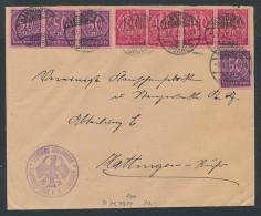 Infla-Dienst Brief   (zz9611) Siehe Scan ! - Officials