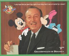 Dominica 1998 Walt Disney  Happy Birthday - Disney