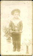 PHOTO MARIN  (BATEAU ) (ENFANT) - Unclassified