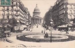 Cp , 75 , PARIS , La Rue Soufflot Et Le Panthéon - Other Monuments