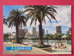 Carte Pas Très Courante - Australie - Brisbane - City Skyline From Southbank - Joli Timbre - Scans Recto-verso - Brisbane