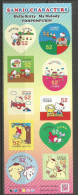 "JAPON. ""Hello Kitty""  Sanrio Characters, Carnet De 10 Timbres Neufs ** - Comics"
