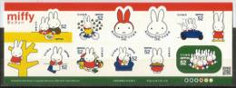 """JAPON. """"le Lapin Miffy"""", Carnet De 10 Timbres Neufs ** - Comics"""