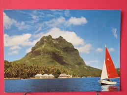 Polynésie Française - Bora Bora - Club Méditerranée Noa Noa - Scans Recto-verso - Polinesia Francese